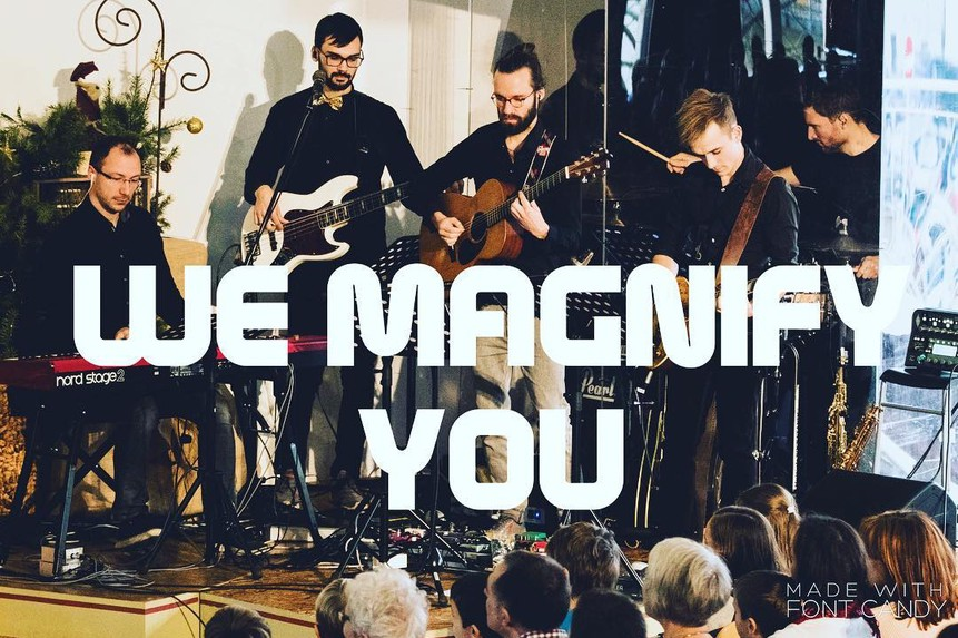 We magnify you Bild